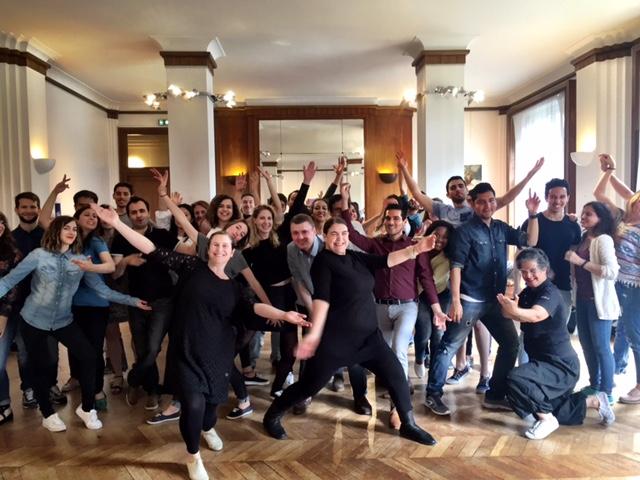 Stage Initiation tango argentin avec Hermanas Bustelo et avec nos élèves de Paris à la Maison Argentine dans le cadre de la Fête de la Cité Internationale Universitaire de Paris